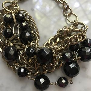 Cache Jewelry - Cache Gold Tone Statement Bracelet NWT